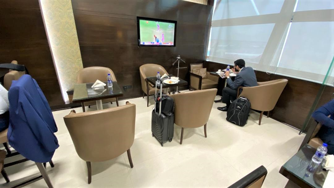Seating - American Express Lounge Delhi Airport