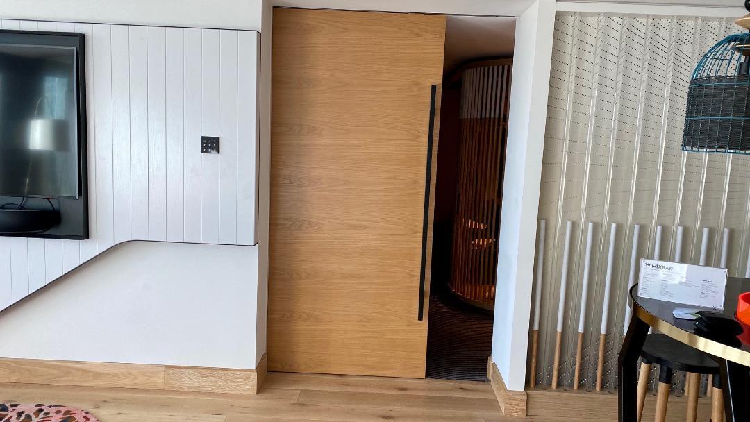 Sliding Door between Living and Bedroom, Fantastic Suite - W Brisbane