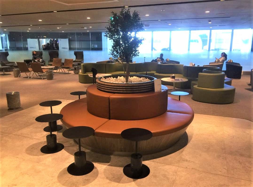 Seating Area, Amex Lounge, Sydney T1