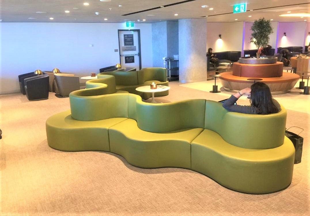 Sitting Zone, Amex Lounge, Sydney T1