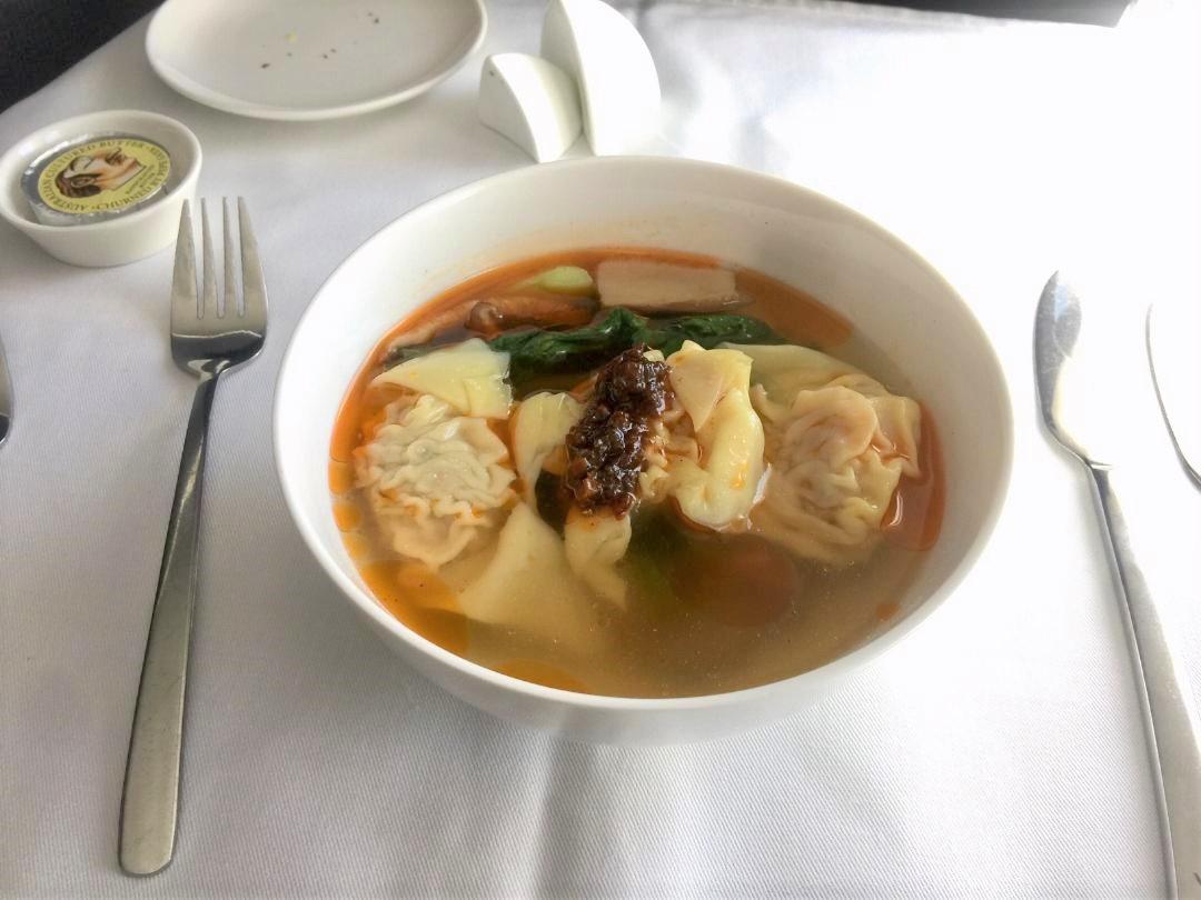 My pork & shiitake wonton soup starter