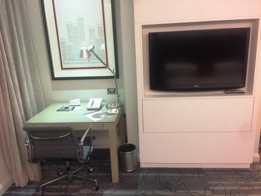 TV & Work Area