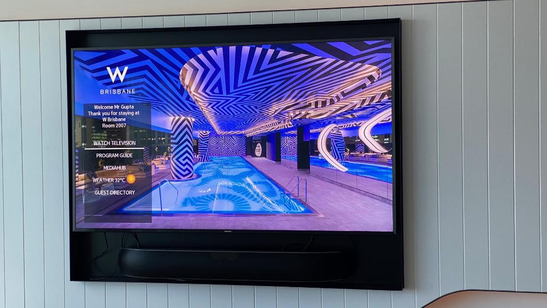 TV, Fantastic Suite - W Brisbane