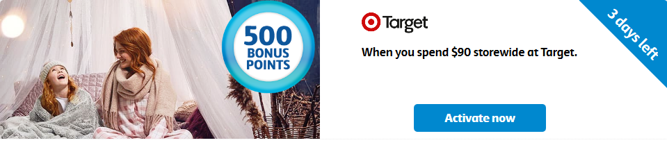Target bonus flybuys points offer