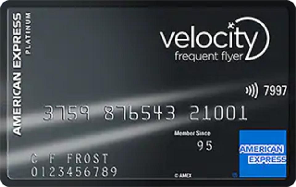 Amex Velocity Platinum Card