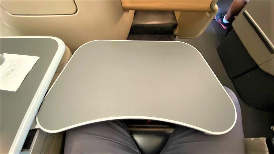 Qantas A-330 Business Class Tray Table