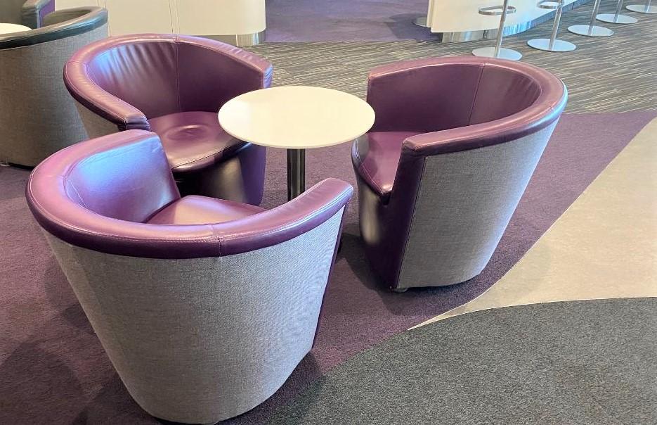 Seating, Virgin Australia Lounge - Perth Airport