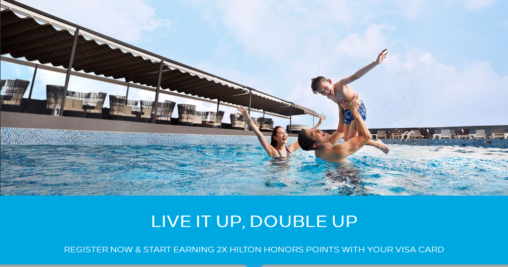 VISA APAC Double Points Promo