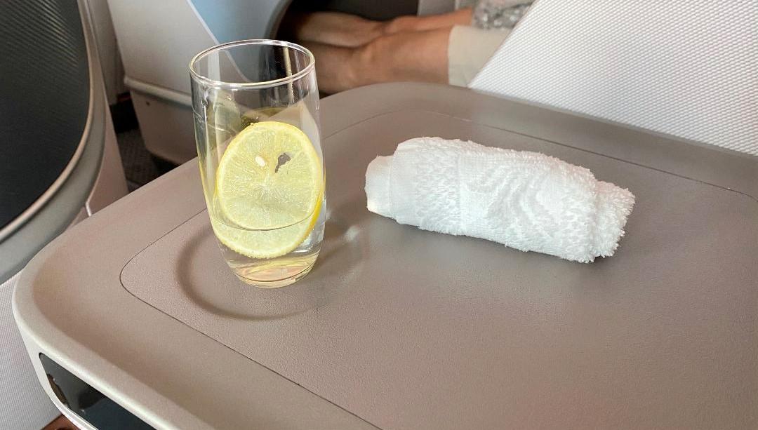Wekcome Drink & Towel