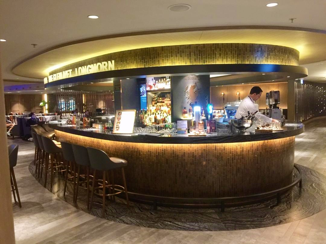 Plaza Premium First, Whisky Bar