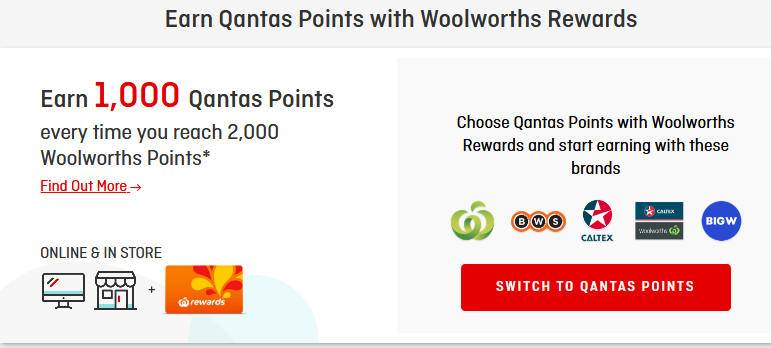 Earn Qantas points with these partners