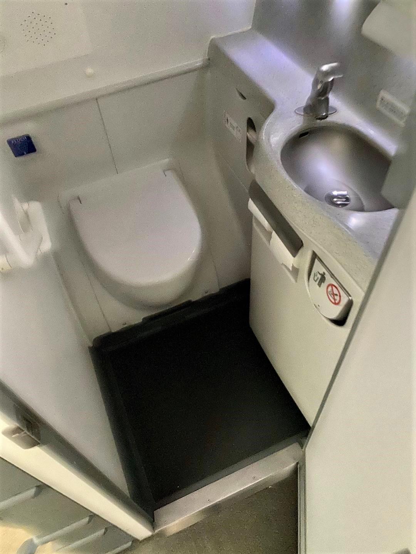 Virgin Australia Toilet