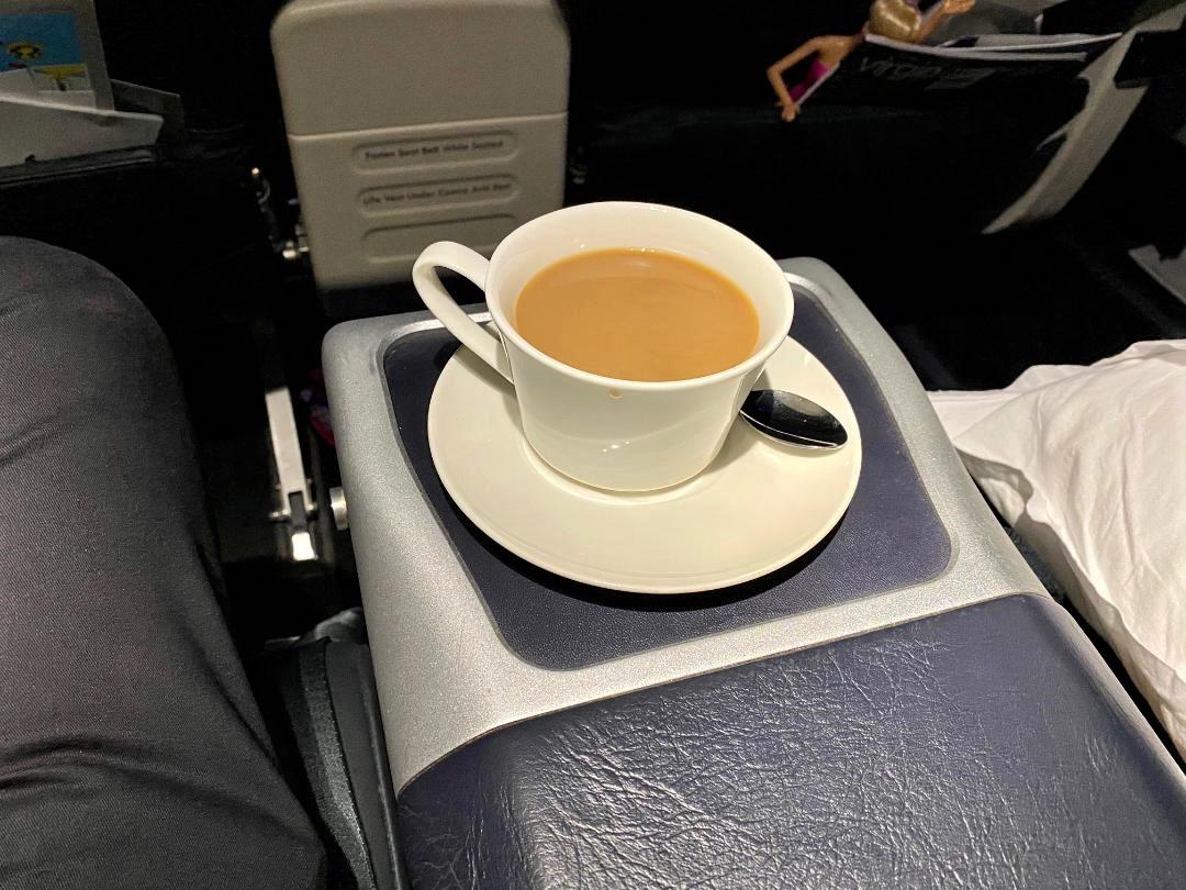 Cappuccino, Virgin Australia Business Class