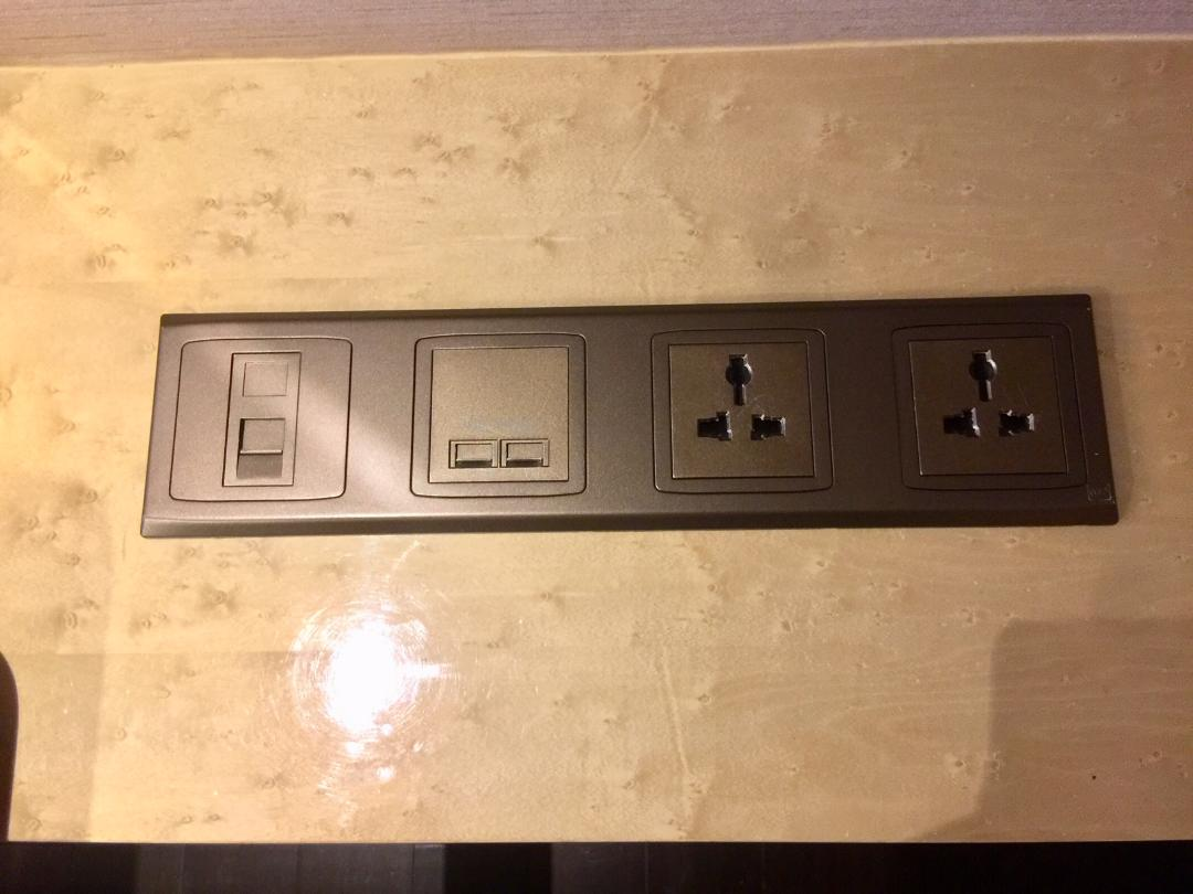 JW Marriott Macau, Charging stations