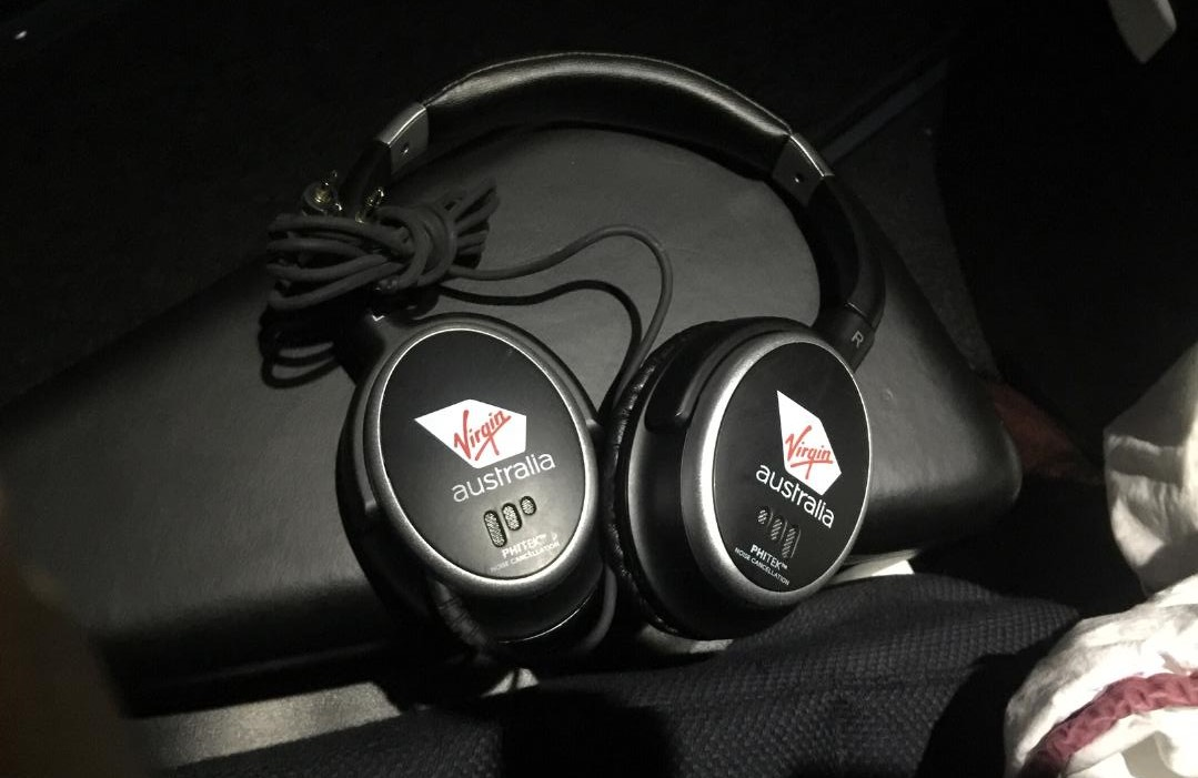 Virgin Australia Business Class Headphones