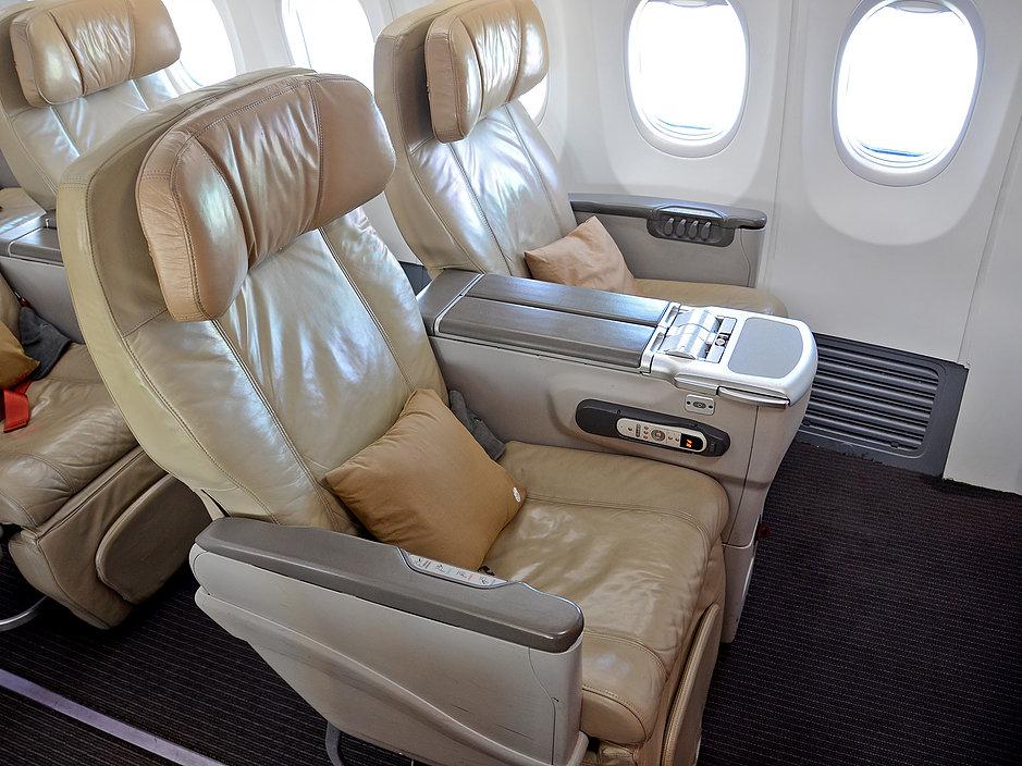 Malindo Air Business class