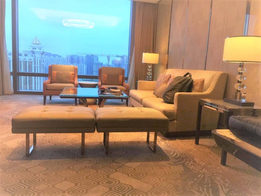 JW Marriott Macau, Executive Suite Sitting Area