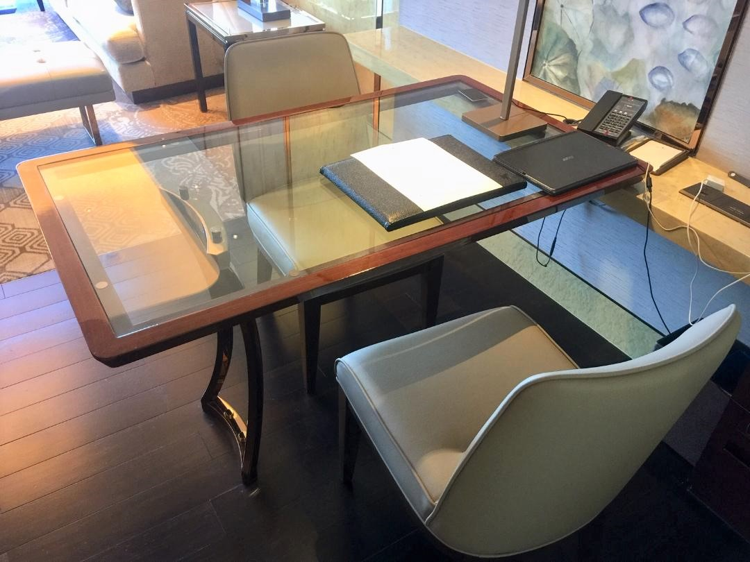 JW Marriott Macau, Executive Suite work desk