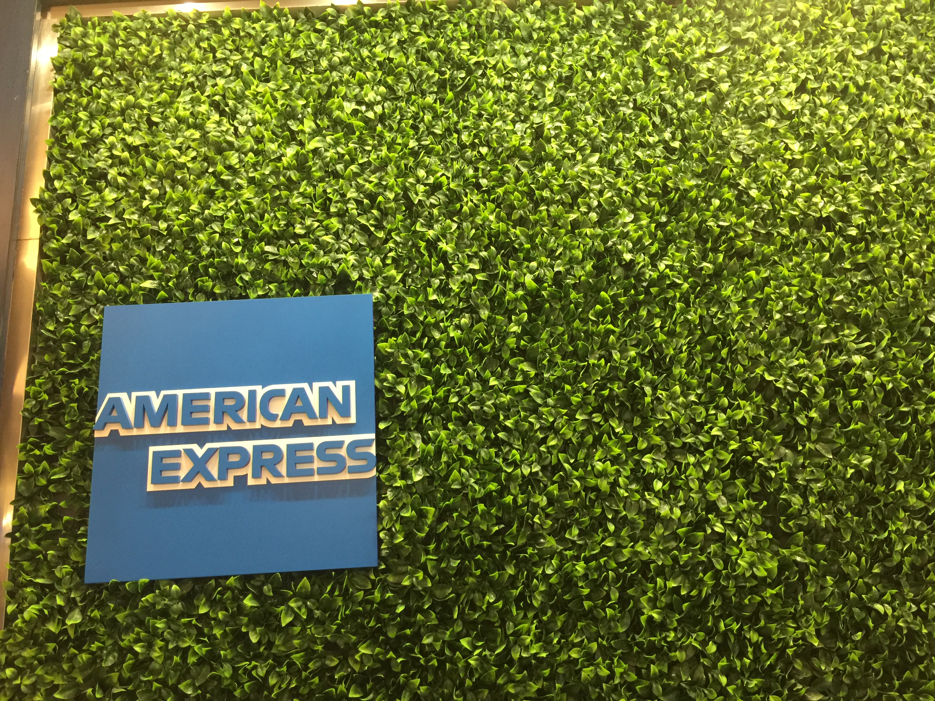 The AmEx Green Living Wall